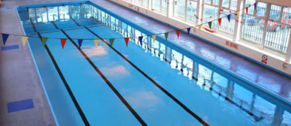 Training Locations - We also swim at Leon Leisure Centre